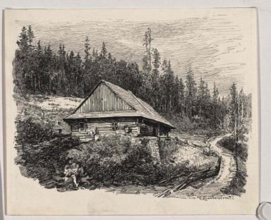 Haus im Bialka-Tal