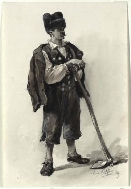 Ein Mandriere - Landmann aus Triest