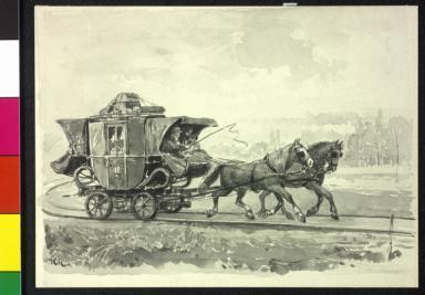 Die alte Budweis-Linzer Eisenbahn