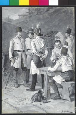 Berg- und Hüttenleute aus Vordernberg und Eisenerz