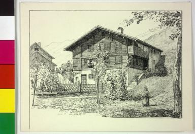 Image from object titled Montafoner Bauernhaus