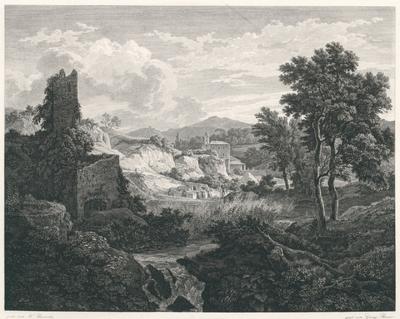 Gegend bey Marino im Albaner Gebirge