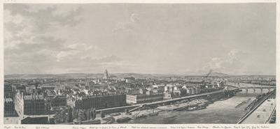 Image from object titled Panorama de Paris pris du Pavillon de Flore