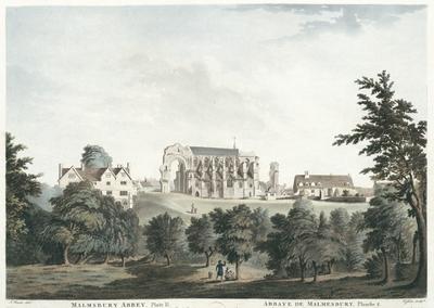 Malmsbury Abbey, Plate II. Abbaye de Malmesbury, Planche 2