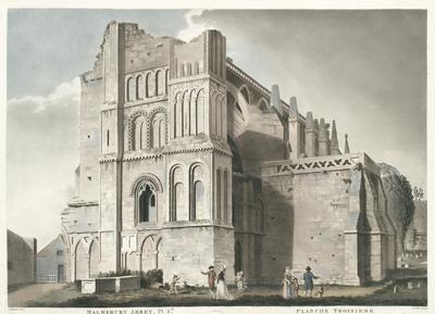 Malmsbury Abbey. Pl. 3.d. Planche Troisieme