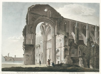 Malmsbury Abbey, Pl. 4. Planche quatrieme