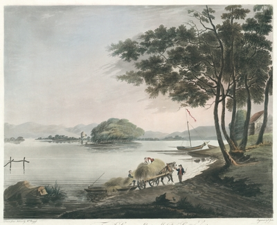 View of Windermere Lake