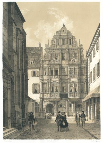 Hôtel du Chevalier à Heidelberg. Gasthaus zum Ritter in Heidelberg