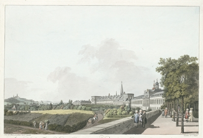 Image from object titled Ansicht des Churfürstlich-Köllnischen Residenz-Schlosses zu Bonn