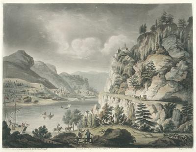 A little below Remagen on the River Rhine
