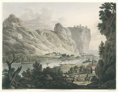 A View between Remagen and Andernach on the River Rhine