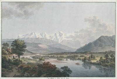 Vue dessinée à Mouri près de Berne