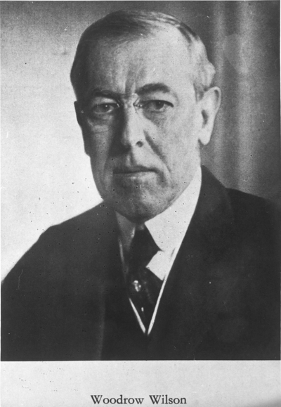 Image from object titled Woodrow Wilson