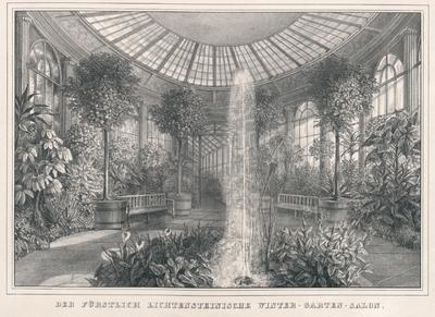 Image from object titled Der Fürstlich Lichtensteinische Winter-Garten-Salon