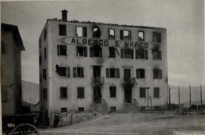 Image from object titled Enego.Ehemaliger Standort des eigenen Stationskommandos.