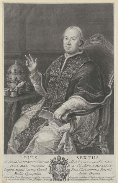 Bildnis Papst Pius VI.