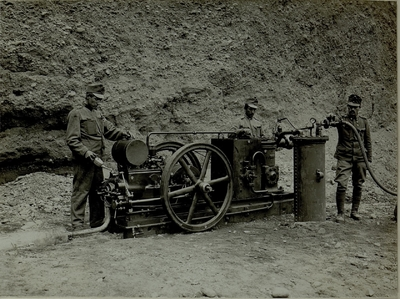 Image from object titled Rock drill machine