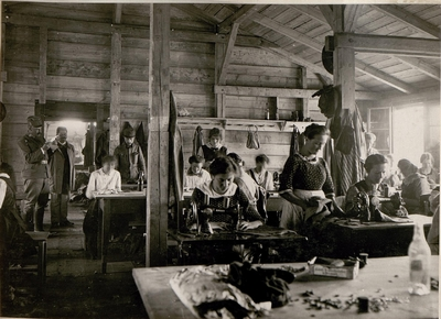 Image from object titled Villach, Sewing Room 3