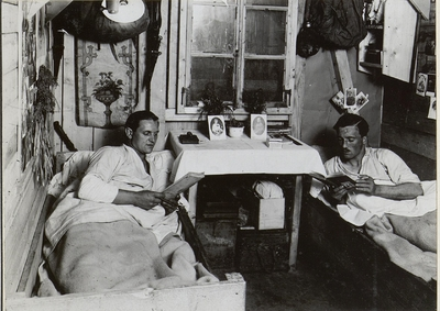 Image from object titled Soldiers' quarters possibly in the Miechow area