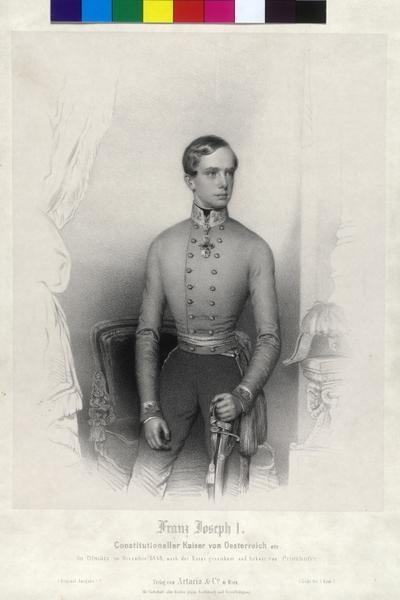 Image from object titled Franz Joseph I., Kaiser von Österreich