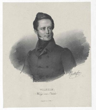 Image from object titled Wilhelm, Herzog von Nassau