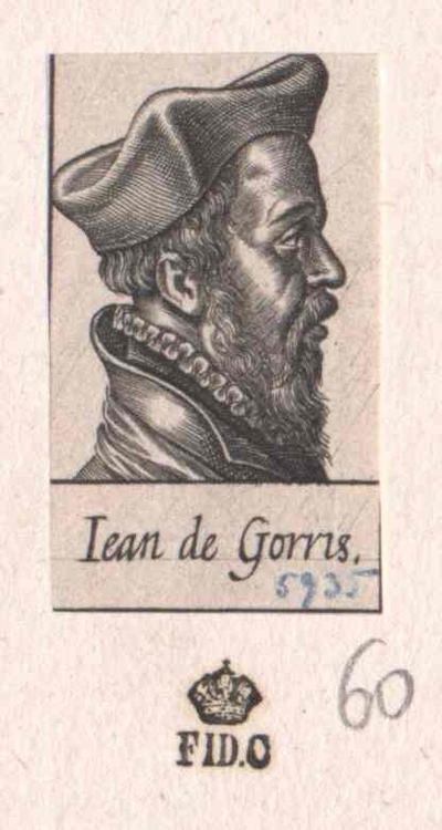 Image from object titled Gorris, Jean de