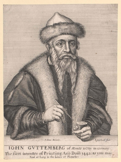 Gutenberg, Johann Gensfleisch