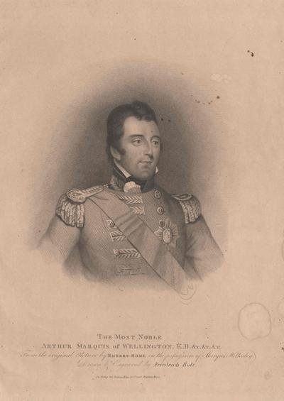 Wellington, Arthur Wellesley Duke of