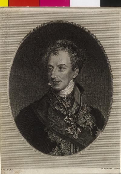 Image from object titled Metternich-Winneburg, Klemens Wenzel Lothar Fürst von
