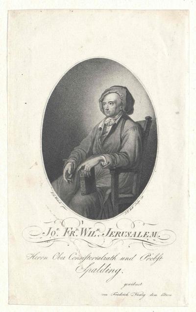 Jerusalem, Johann Friedrich Wilhelm