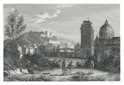 Chiesa S. Giorgio in Verona. Kirche des S. Georg in Verona