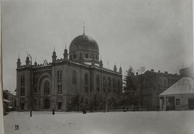 Image from object titled Czernowitz: Str. I. G. Duca
