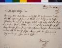Brief von Wolfgang Amadeus Mozart