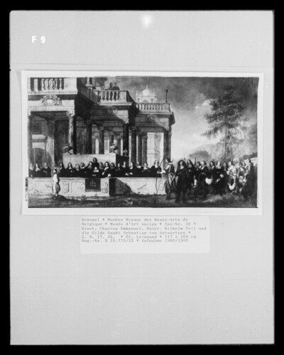 Wilhelm Tell und die Gilde Sankt Sebastian von Antwerpen