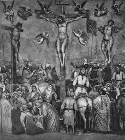 Freskenzyklus — Kreuzigung