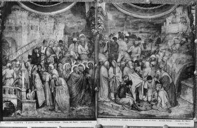 Freskenausstattung — Kreuzigung