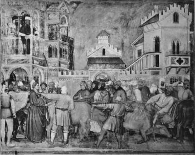 Freskenzyklus — Legende der heiligen Lucia