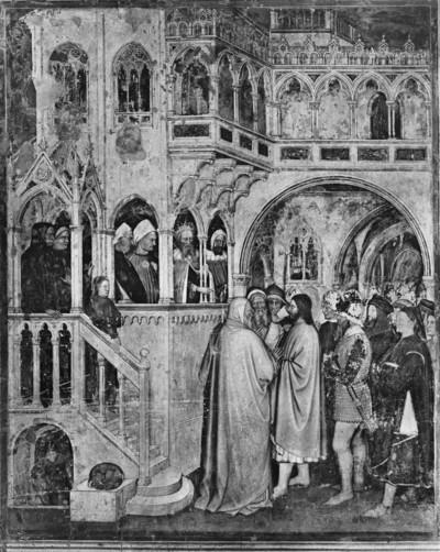 Freskenzyklus — Legende des heiligen Georg