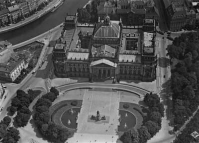 Reichstagsgebäude, Berlin - Tiergarten, Platz der Republik & Königsplatz (ehemals)