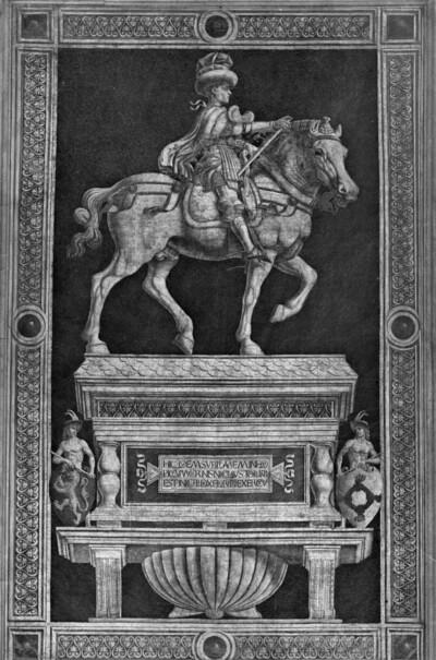 Reiterdenkmal des Nicolo Manuzi da Tolentino