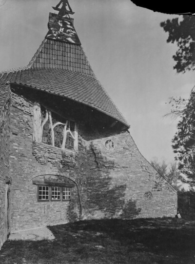 Haus Hoetger, Worpswede, Hinterm Berg 14