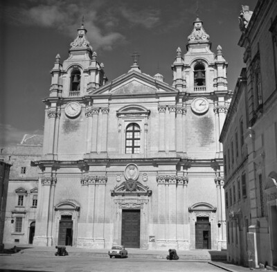 Image from object titled Kathedrale San Pawl, Mdina (Malta)