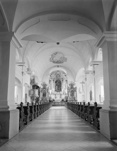 Katholische Stadtpfarrkirche Heilig Kreuz — Langhaus, Offenburg