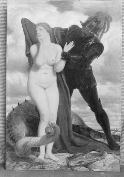 Ruggerio und Angelica (Ludovico Giovanni Ariosto, Orlando furioso)