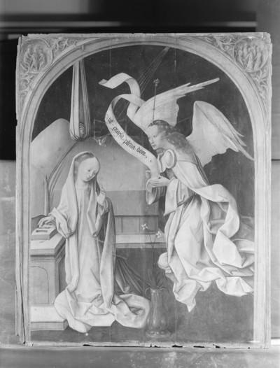 Die Verkündigung an Maria — Schauseite (erste)