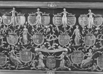 Grabmal Karls des Kühnen von Burgund (+ 1477) — Linke Längsseite — Darstellungsdetail