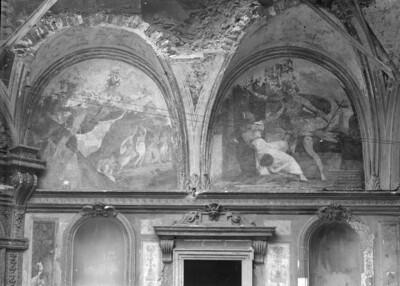 Aglauros wehrt Merkur ab; Merkur erblickt Herse