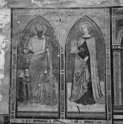 Apostel Bartholomäus und Heilige Barbara