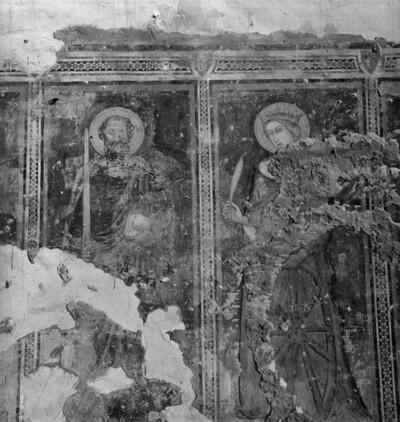 Apostel Paulus und Heilige Katharina