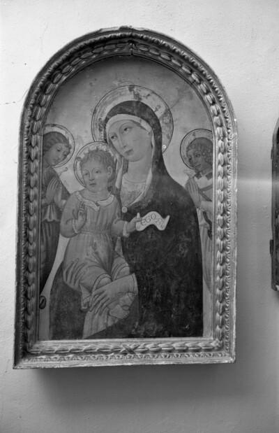 Madonna mit Kind und Engeln